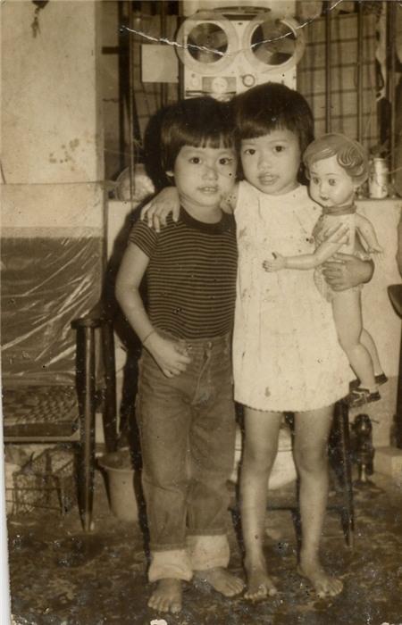 Tuấn Hưng và chị gái