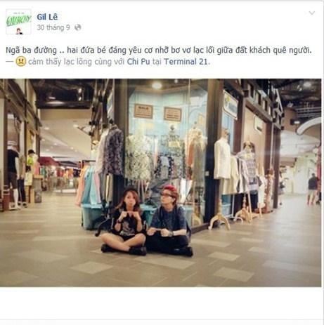 Mặc scandal, Gil Lê và Chi Pu cùng nhau đi Thái Lan