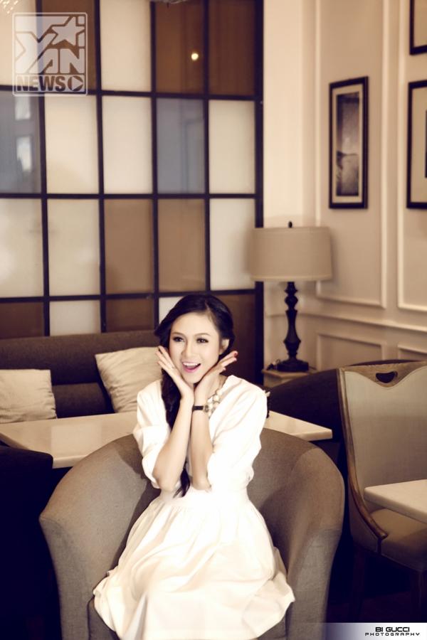 Tháng 3/2013, cô gái xinh xắn đã bí mật lên xe hoa theo chồng. Chồng của Trinh tên là Nguyễn Thái Bình làm doanh nghiệp chuyên về ngành bao bì nhựa, sinh năm 1981 hơn cô đúng tròn 10 tuổi.
