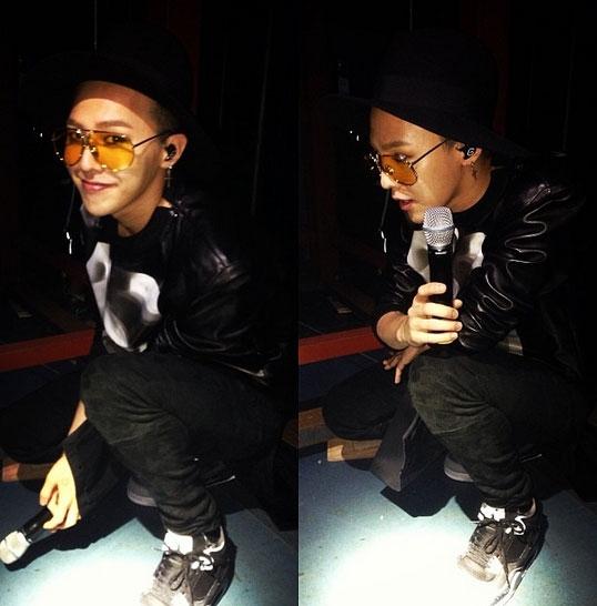 G-Dragon cũng đã đăng một bức ảnh từ concert này.