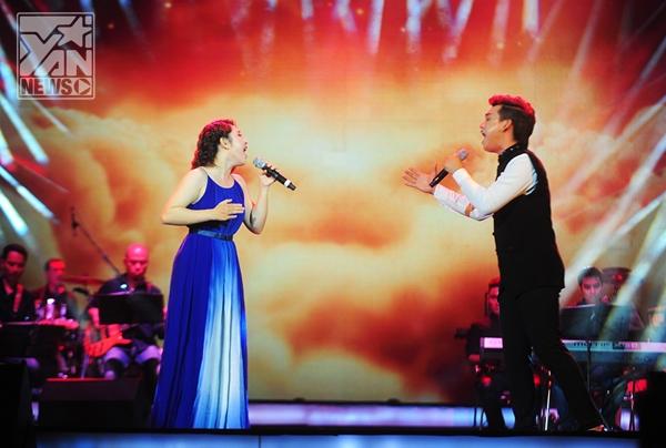 Đã từng được thể hiện thành công bởi nhiều tên tuổi như Mỹ Linh, Thanh Lam,… Gọi anhcủa nhạc sĩ Dương Thụmột lần nữa có tạo dấu ấn đặc biệt qua tiết mục song ca đầy ăn ý giữa Trung Quân và Bảo Trâm.