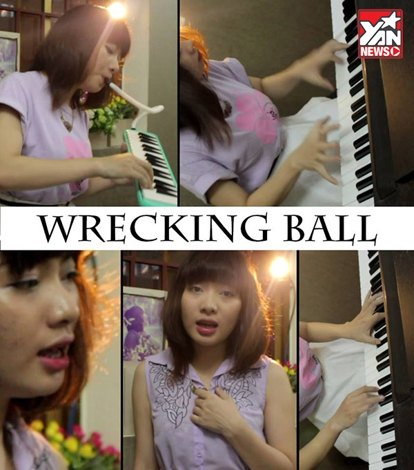 [Cover Piano] Wrecking Ball-Miley Cyrus