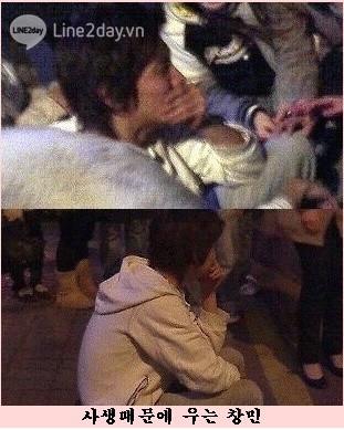 Chang Min bật khóc trước hành động quá khích của fan cuồng