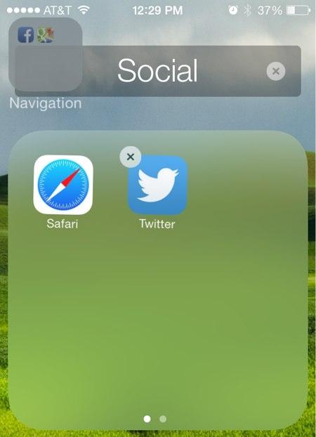 Gom nhóm ứng dụng dễ dàng trên iOS 7