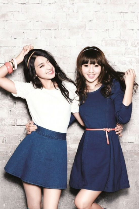 Hyorin và Bora ( Sistar)