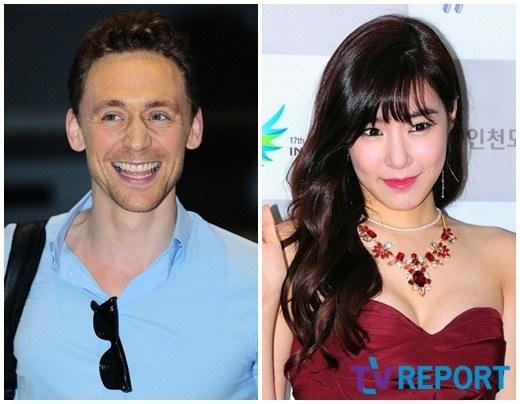 Tom Hiddleston sẽ du lịch Hàn Quốc cùng Tiffany (SNSD)