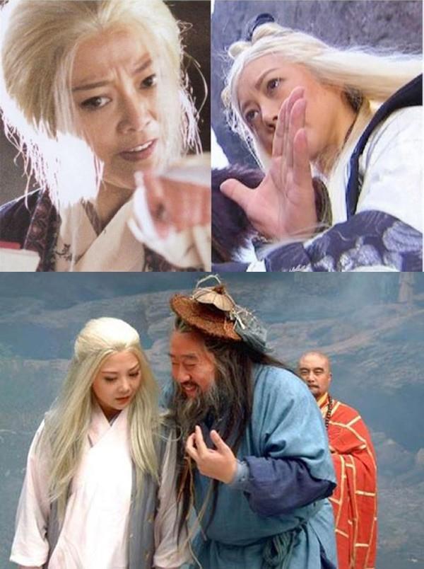 Phiên bản Anh Cô trong Anh hùng xạ điêu 2003 và Thần điêu đại hiệp 2006 do Lương Lệ đóng.