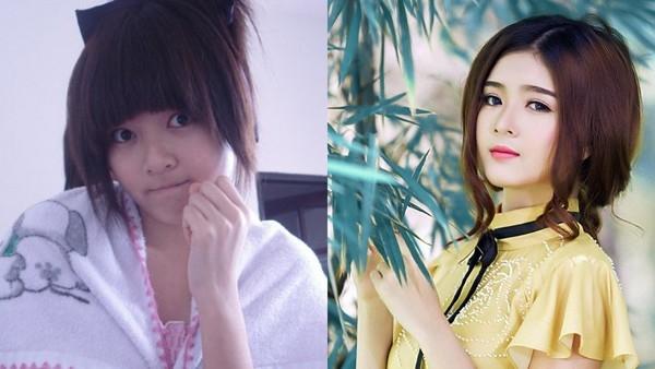 Kỳ án hot girl: Mặt mộc xấu - đẹp của các hot girl Việt