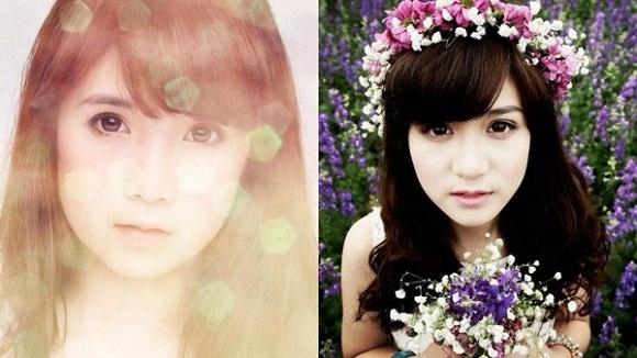 Gương mặt của hai hotgirl cũng có nhiều điểm tương đồng