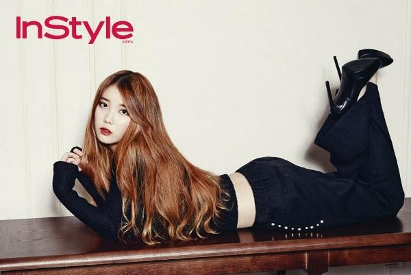 IU và Cha Ye Ryun đọ sắc đẹp ngỡ ngàng trên tạp chí InStyle