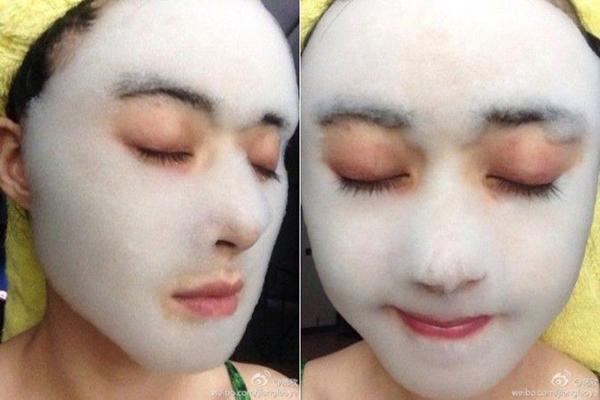 Nữ diễn viên xinh đẹp người Trung Quốc Tưởng Hân.