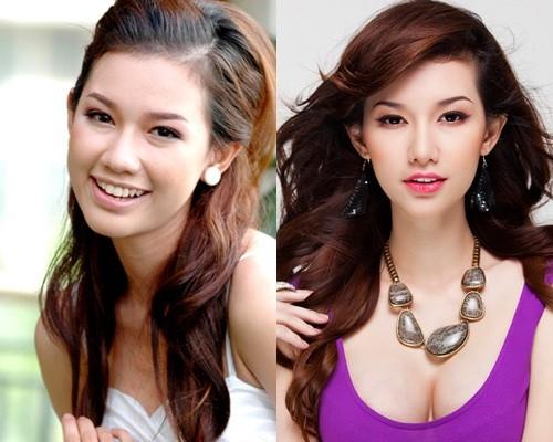 Hot girl Quỳnh Chi với sự khác biệt trước và sau nghi án làm đẹp. Trông cô đẹp hoàn hảo hơn.