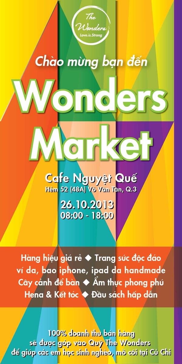 Cùng đến với Wonders Market
