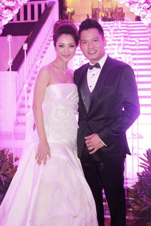 Jennifer Phạm trong đám cưới với người chồng thứ 2 - Doanh nhân Đức Hải