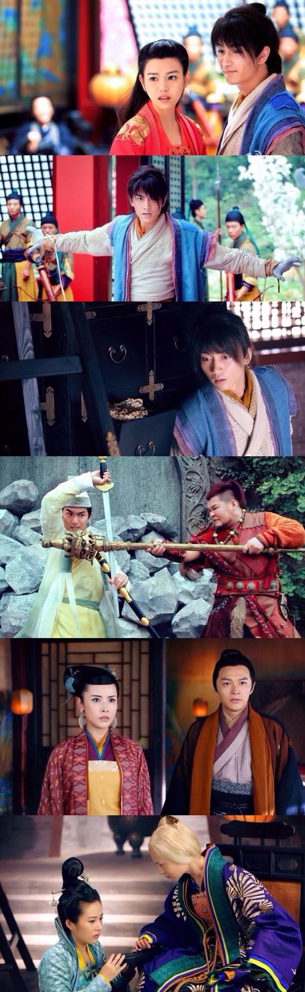 Một vài hình ảnh mới trong phim Thần điêu đại hiệp 2014 lan truyền trên mạng.