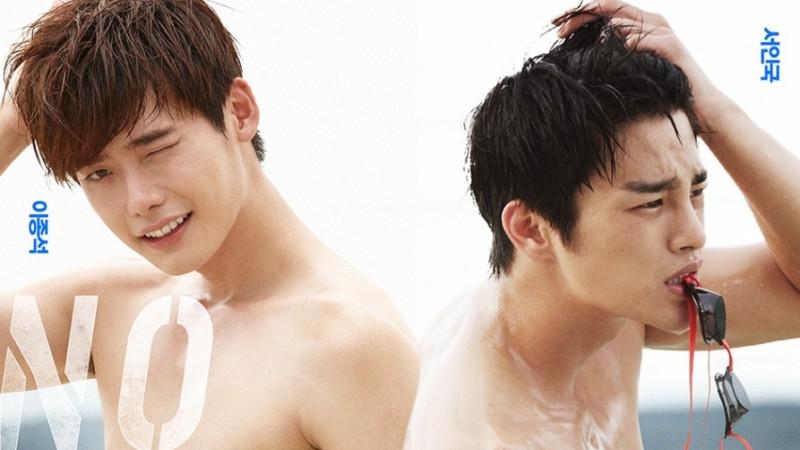 Seo In Gukchia sẻ rằng anh có chút tự tin sau khi nhìn thấy cơ thể hoàn hảo củaLee Jong Suk