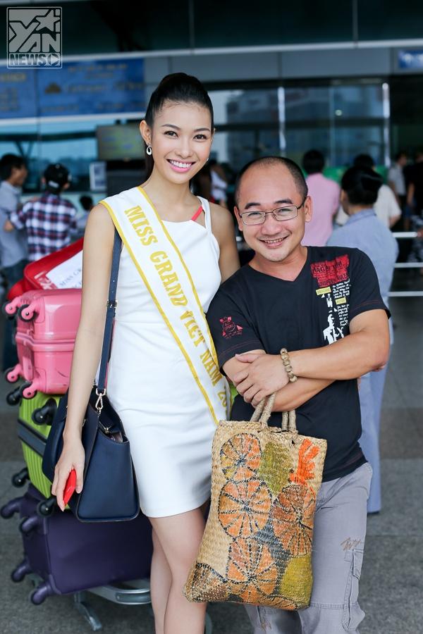 """Bích Khanh đại diện Việt Nam tham dự """"Miss Grand International 2013"""""""