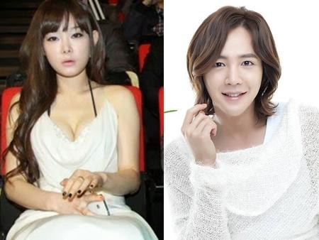 Jang Geun Suk(phải) đã bị cô người mẫu lợi dụng để lăng xê tên tuổi.
