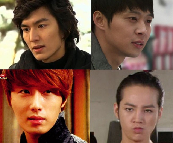 Jun Pyo (Boys Over Flowers), Lee Gak (Rooftop Prince), Lee Sun Joon (Sungkyunkwan Scandal), Hwang Tae Kyung (You Are Beautiful), Cha Chi Soo (Flower Boy Ramen Shop).