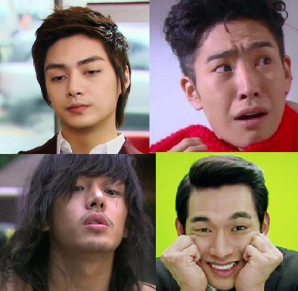 Woo Bin (Boys Over Flowers), Kim Ba Wool (Flower Boy Ramen Shop), Woo Yong Sul (Rooftop Prince), Moon Jae Shin (Sungkyunkwan Scandal), Tae San (A Gentleman's Dignity).