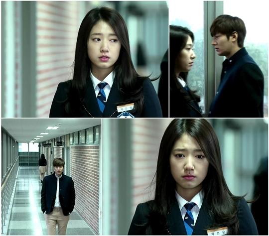 Eun Sang và Kim Tan lướt qua nhau lạnh lùng