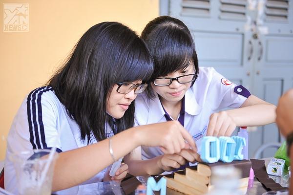 Trường THPT Nguyễn Thị Minh Khai tưng bừng kỷ niệm 100 năm thành lập