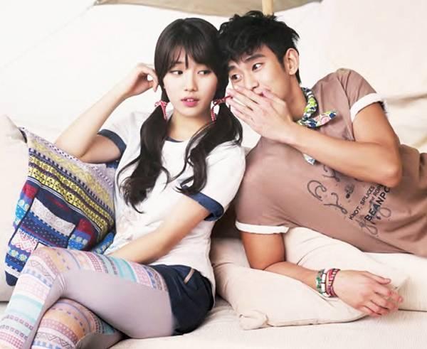Suzy và Kim Soo Hyun