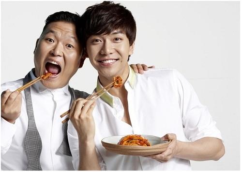 Psy và Lee Seung GI