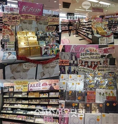 Nhóm nhạc Kpop nào được yêu thích nhất tại Nhật Bản?