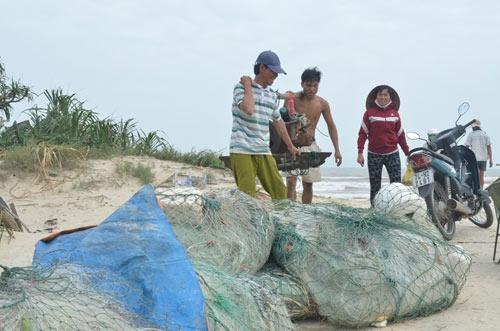 Người dân Quảng Trị chủ động đối phó vớisiêu bão Haiyan