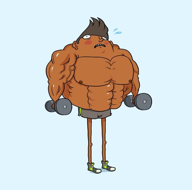 10 kiểu người mà bạn dễ dàng tìm thấy ở phòng tập gym