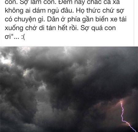 Dân mạng túc trực thâu đêm cập nhật tin siêu bão