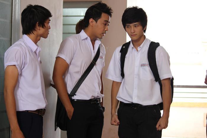 """Huỳnh Anh vào vai chàng công tử phá phách trong """"Bản lĩnh công tử""""."""