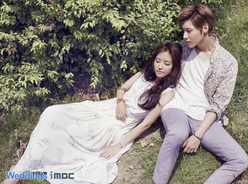 Taemin và Na Eun