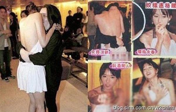 Những hình ảnh làm xấu tên tuổi Lâm Chí Linh.