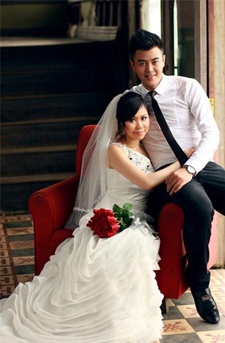 MC Tuấn Tú và bà xã Thanh Huyền