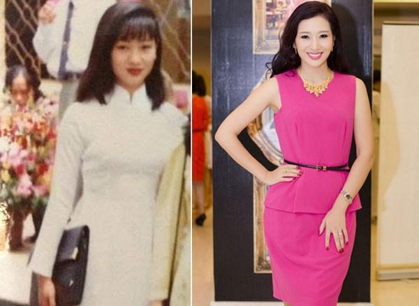Á hậu Thu Hương thời cấp 3 xinh xắn.
