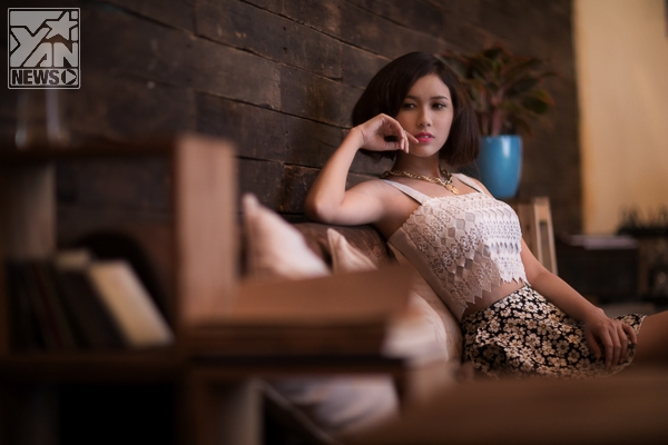 """""""Vào mùa"""" nhẹ nhàng với hơi hướng vintage cùng miss Grang Linh"""