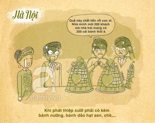 Đám cưới ở Hà Nội và Sài Gòn có gì khác biệt?
