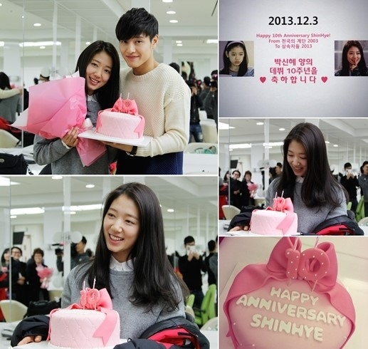 Park Shin Hye kỷ niệm 10 năm debut cùng The Heirs