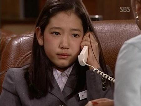Park Shin Hye trong phim Nấc Thang Lên Thiên Đường (2003)