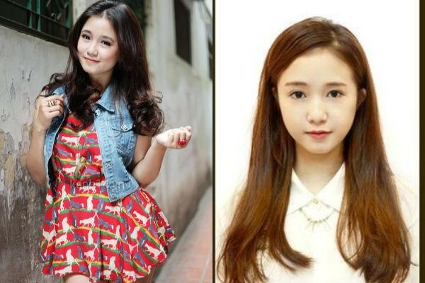Gương mặt đậm chất con gái Việt Nam của Sa Lim. Đôi mắt biết nói và làn da trắng là những gì khiến cô nàng được yêu thích.