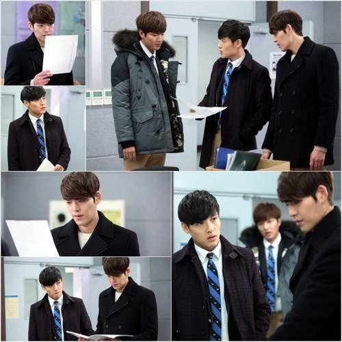 Cả 3 anh chàng đang lập kế hoạch đi tìm Eun Sang