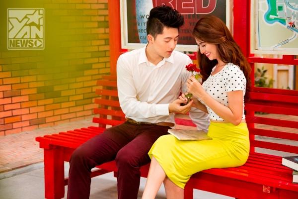 Sau Hoàng Thùy Linh, Harry Lu khóa môi ngọt ngào với Việt My