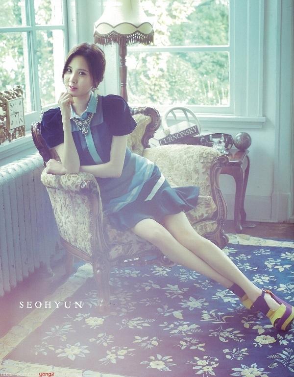 SNSD ngọt ngào với thời trang thu đông đơn giản trên tạp chí Sone Note
