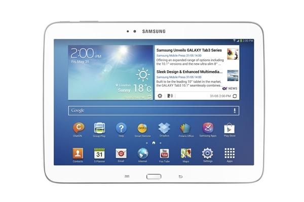 Samsung Galaxy Tab 3 10.1 – Atom cho máy tính bảng