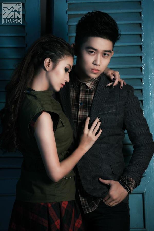 Bạn gái Nam Cường hẹn hò với hotboy O'Star