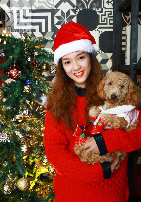 Đinh Hương tung single Jingle Bells tri ân khán giả dịp Giáng sinh - Tin sao Viet - Tin tuc sao Viet - Scandal sao Viet - Tin tuc cua Sao - Tin cua Sao