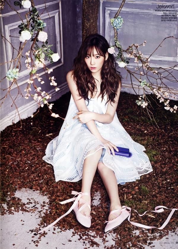 """Đón xuân đang sang cùng """"cô nàng kẹo ngọt"""" Tae Yeon (SNSD)"""