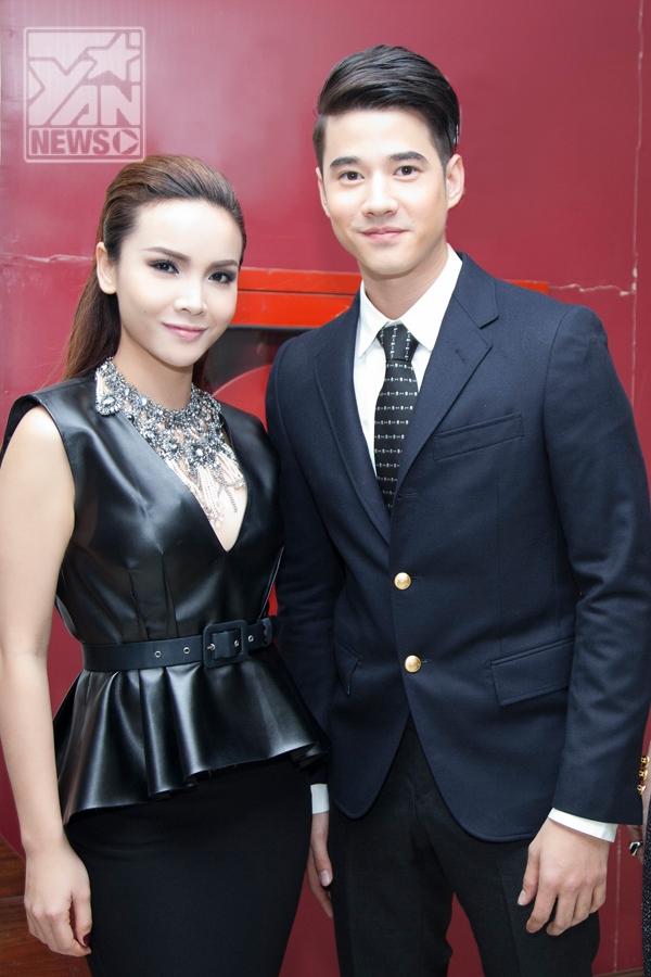 Yến Trang và Mario Maurer - nam diễn viên chính phim Tình người duyên ma - Tin sao Viet - Tin tuc sao Viet - Scandal sao Viet - Tin tuc cua Sao - Tin cua Sao